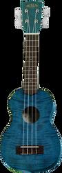 Kala KA-SEMG Exotic Mahogany Soprano Blue