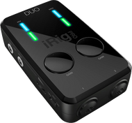 IK Multimedia iRig Pro Duo 2-in/2-out Audio/MIDI Interface for iOS, Android, PC and Mac