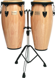 "Tycoon Percussion STC-1B N/D 10"" & 11"" Supremo Series Congas Natural"