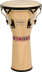 "Tycoon Percussion TJS-72 B N 12"" Supremo Series Djembe Natural"