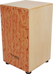 Tycoon Percussion TKW-29 29 Series Siam Oak Cajon with Hand-Painted Front Plate