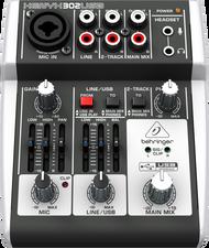 Behringer Xenyx 302USB 5ch Mixer