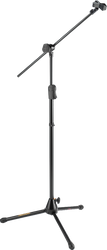 Hercules MS533B EZ Clutch Tripod Microphone Stand with Hideaway Boom