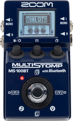 Zoom MS-100BT MultiStomp Effects Pedal with Bluetooth