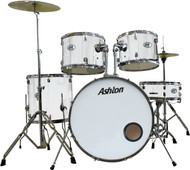 Ashton TDB522K Acoustic Drum Kit White