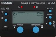 Boss TU-30 Tuner & Metronome