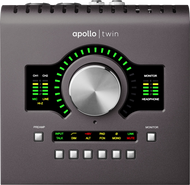 Universal Audio Apollo Twin MKII Quad Interface with Realtime UAD Processing