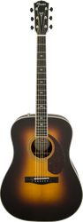 Fender Paramount PM-1 Deluxe Dreadnought Vintage Sunburst with Case