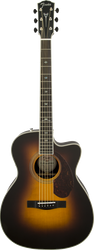 Fender Paramount PM-3 Deluxe Triple-0 Vintage Sunburst with Case