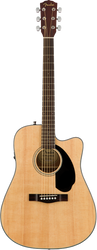 Fender CD-60SCE Acoustic/Electric Cutaway Natural