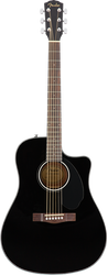 Fender CD-60SCE Acoustic/Electric Cutaway Black