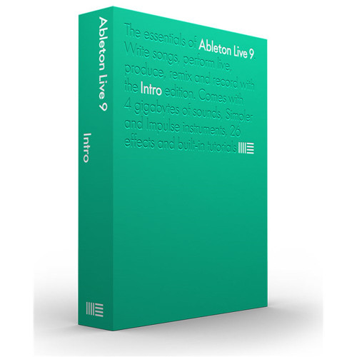 Ableton Live 9 Intro Music Production Software (ABL-LIVE9INTRO)