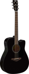Yamaha FGX800C BL Acoustic/Electric Black