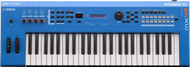 Yamaha MX49BU Synthesizer Blue with Bonus Bag