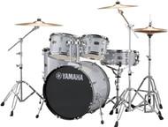Yamaha Rydeen Euro Drum Kit Silver Glitter