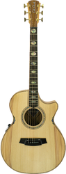 Cole Clark Angel 3 CCAN3EC-BB Bunya Blackwood