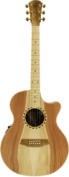 Cole Clark Angel 2 CCAN2EC-RDBLSB Redwood Blackwood