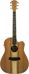Cole Clark Fat Lady 2 CCFL2EC-RDRWE-G Gloss Redwood Rosewood