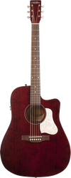 Art & Lutherie Americana CW Dreadnought Tennessee Red QIT