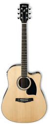 Ibanez PF15ECE NT Acoustic/Electric Guitar Natural