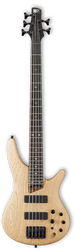 Ibanez Soundgear SR605 NTF 5-String Bass Guitar Natural Flat