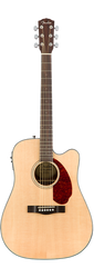 Fender CD-140SCE Dreadnought Acoustic/Electric Natural with Case