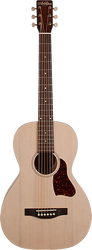 Art & Lutherie Roadhouse Parlor Acoustic/Electric Faded Cream