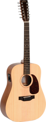 Sigma DM12E 12-String Acoustic/Electric Spruce Mahogany
