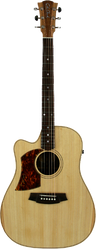 Cole Clark CCFL2EC-LH-BB Fat Lady 2 Bunya Blackwood Left-Handed