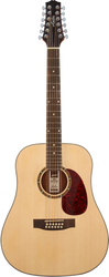Ashton D25/12EQ NTM 12-String Acoustic/Electric Natural Matte