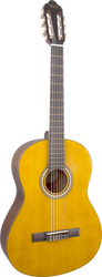 Valencia VC204H Hybrid/Thin-Neck Classical Guitar Antique Natural