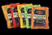 All Natural 5 Flavor Sampler Pack 3oz Beef Jerky