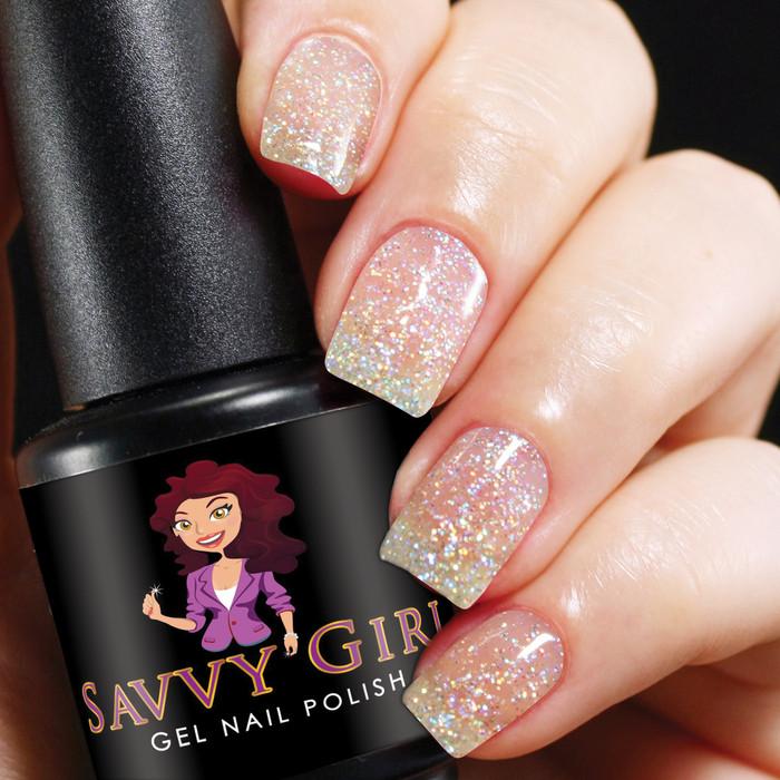 Bubble Bath - Gel Nail Polish Color   Savvy Girl Gel Nail Polish