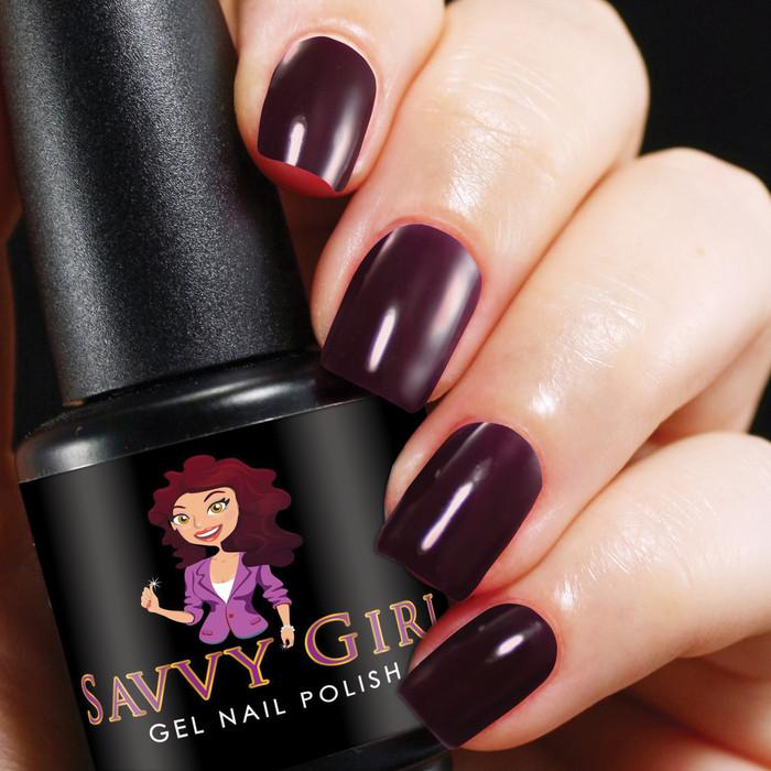 Plum Fancy - Gel Nail Polish Color | Savvy Girl Gel Nail Polish