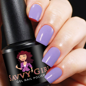 Lavender Lace Savvy Girl Gel Nail Polish