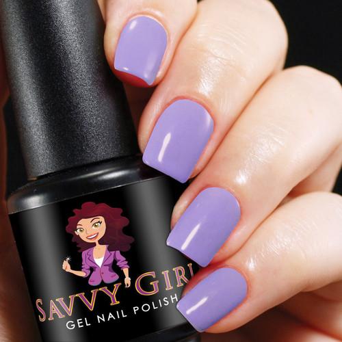 Lavender Lace Savvy Girl Gel Nail Polish