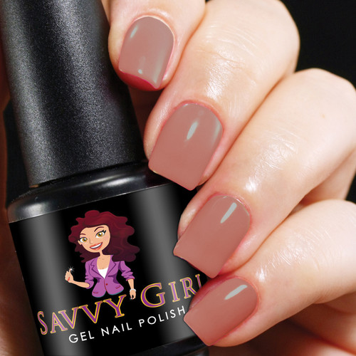Off The Shoulder Savvy Girl Gel Nail Polish