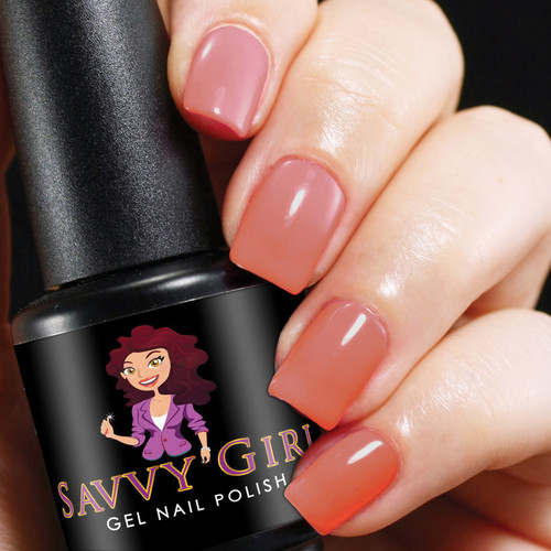 Juicy Melon Savvy Girl Gel Nail Polish