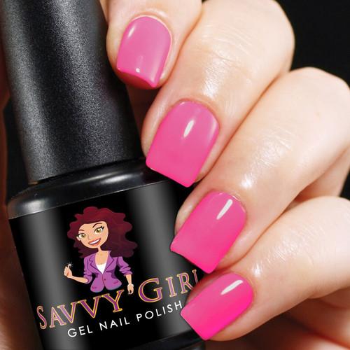 Pink Pop   Savvy Girl Gel Nail Polish