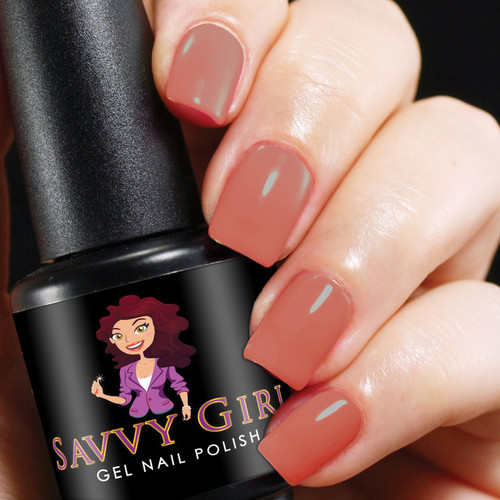 First Blush Savvy Girl Gel Nail Polish