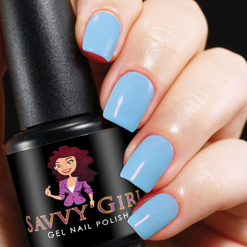 Sky's The Limit Savvy Girl Gel Nail Polish