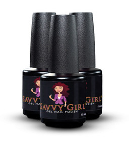 Savvy Girl Gel Nail Polish 3 Color Set
