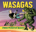 Mark Malibu & The Wasagas - Crash Monster Beach CD