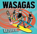Mark Malibu & The Wasagas - Return Of... The Wasagas CD