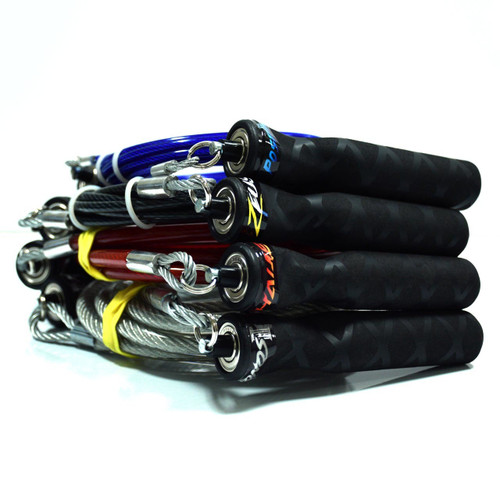 The RXSG Heavy Jump Rope Pack comes with (1) Poseidon, (1) Zeus, (1) Hades and (1) Kronos