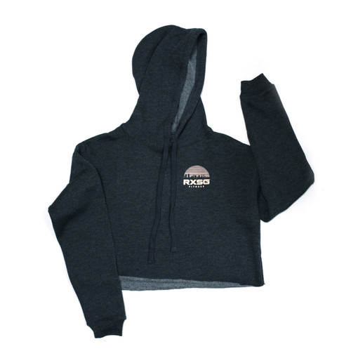 RXSG Skyline Cropped Fleece Hoodie