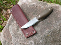 Kamrat Companion Knife Green Micarta