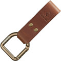 Casstrom No 3 Dangler Belt Loop Cognac Brown