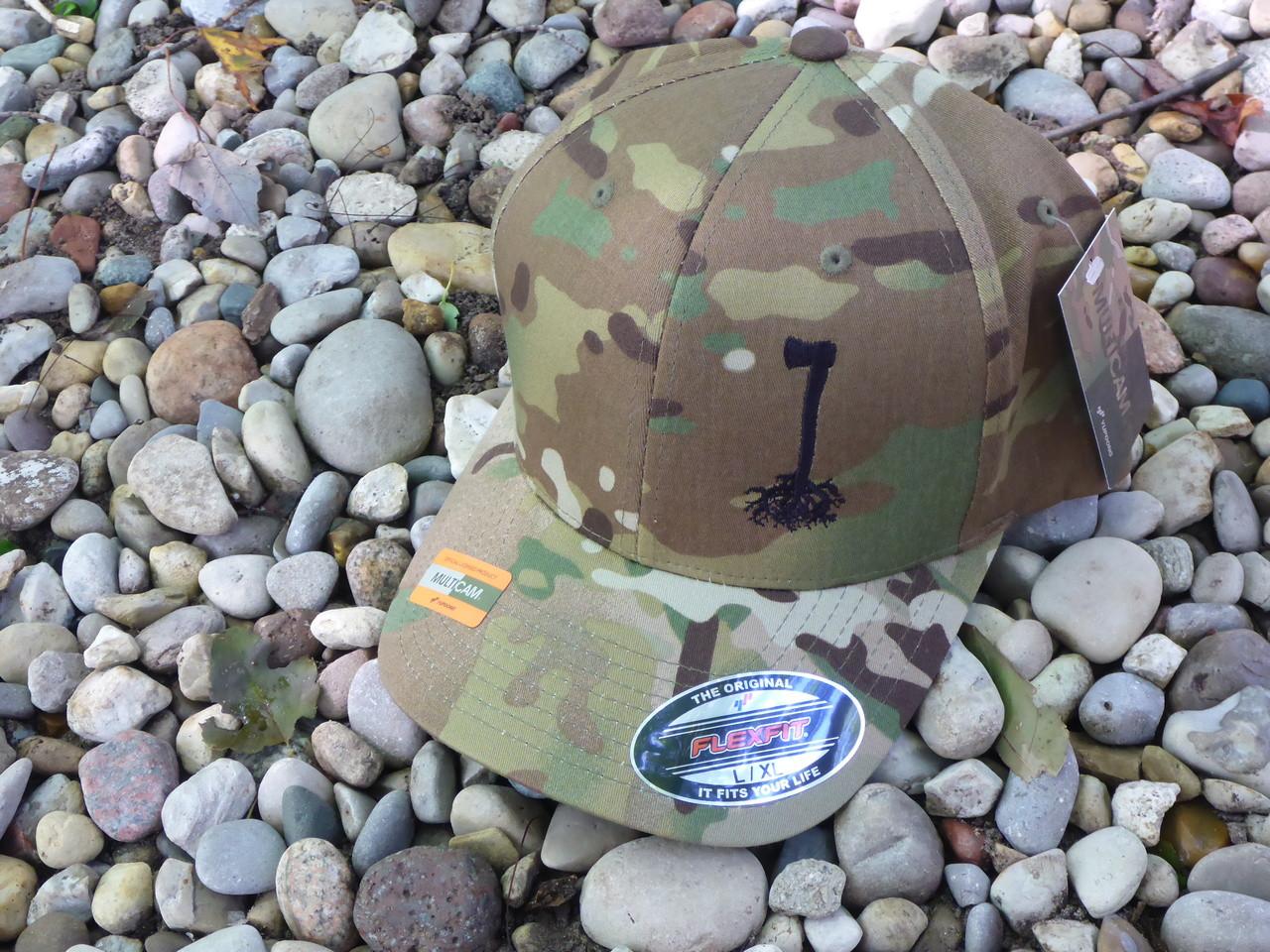 Bush Roots Flexfit Hat Multicam L XL - Bens Outdoor Products 6eacb9479945