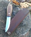 Kamrat Companion Knife Brown Micarta